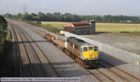 Irish Rail class 071 diesel.