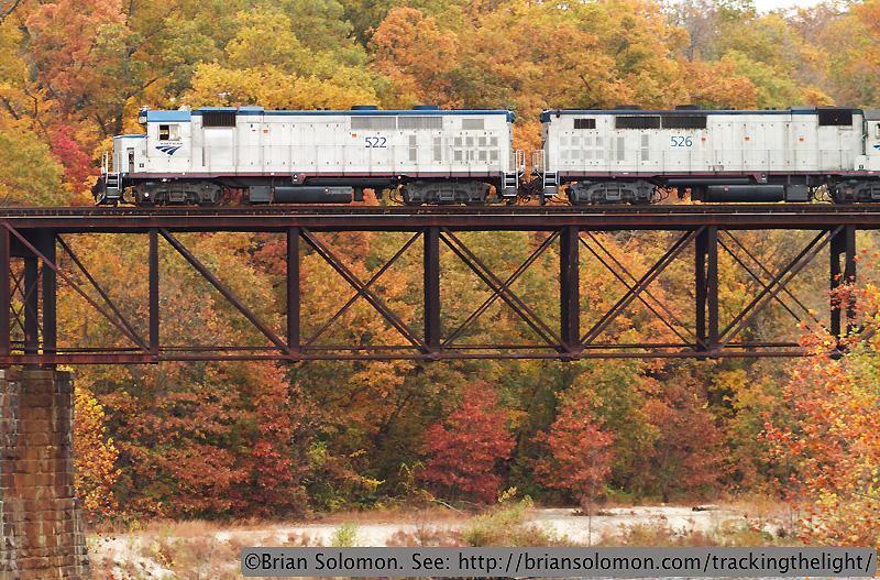 Amtrak GP38-2TCs