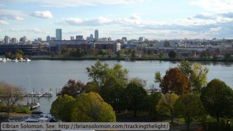 Boston skyline. Lumix LX3 photo.