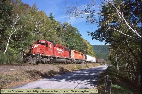CP Rail SD40-2s