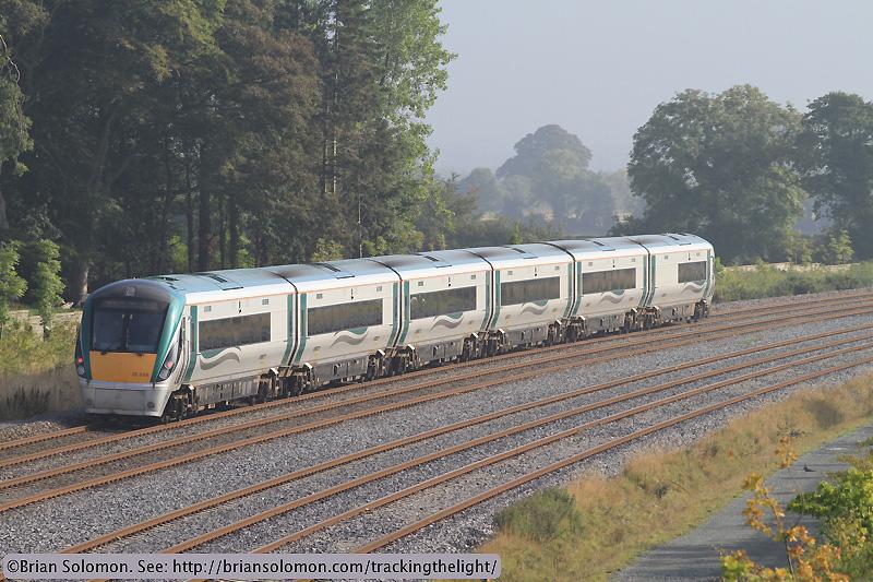 Irish Rail passenger train