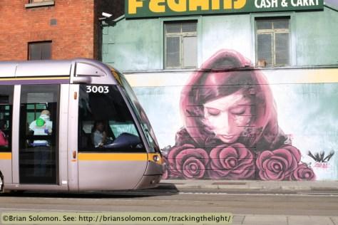 LUAS Dublin.