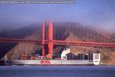 OOCL Container Ship