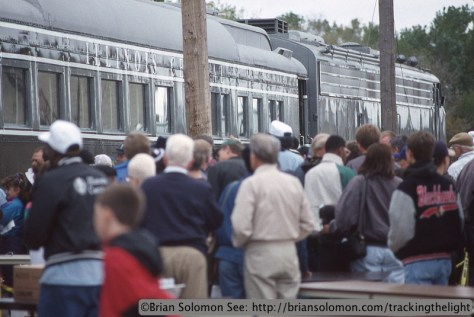 Illinois Central open house October 8, 1995. Kodachrome 25 slide exposed with a Nikon F3T with 105mm lens.