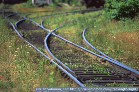 Cape Breton & Central Nova Scotia's former Canadian National Railways trackage.