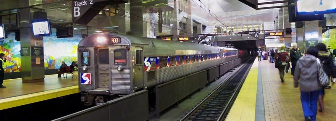 DAILY POST: SEPTA Silverliners at Market East