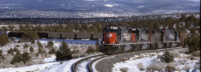 DAILY POST: Southern Pacific at Indian Camp, February 1994