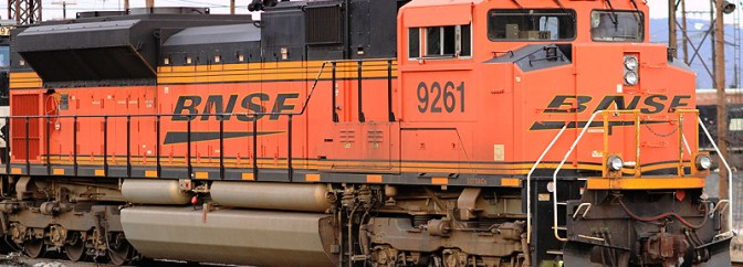 DAILY POST: BNSF SD70ACE at Enola, Pennsylvania.