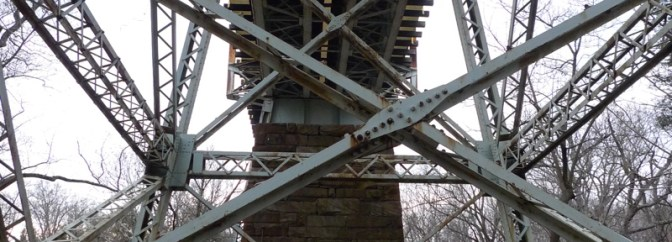 DAILY Post: Former Pennsy Viaduct at Crum Creek.