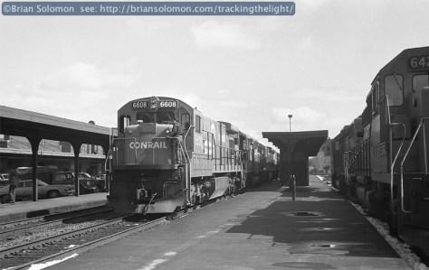 Conrail, Springfield, Mass.