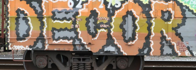 Daily Post: Railcar Graffiti
