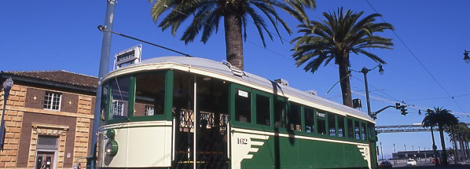 BEFORE THE CRASH: Muni 162 Catches the Sun In 2009
