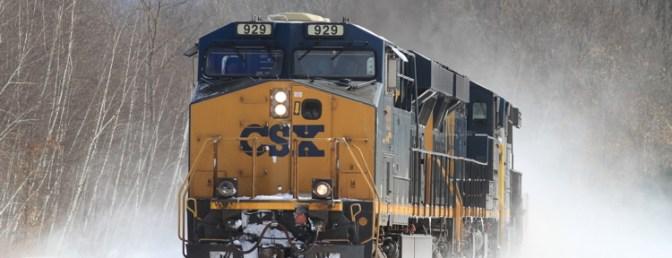 CSXT Evolution-series locomotives.