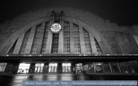 16mm Hologon view of Cincinnati Union Station.