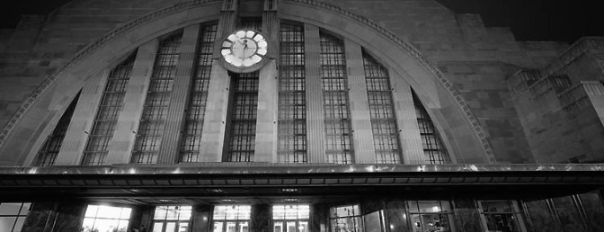 Daily Post: Art Deco Masterpiece: Cincinnati Union Station