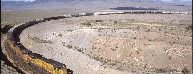 Daily Post: Arnold Loop, Silver Zone Pass, Nevada.