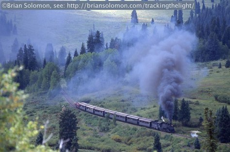 Cumbres & Toltec steam locomotive