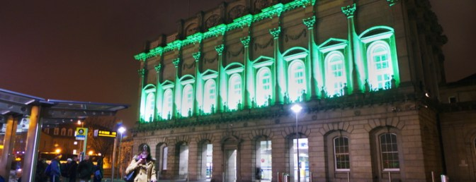 Heuston Station Lit For St Patrick's Day Part 3—Daily Post