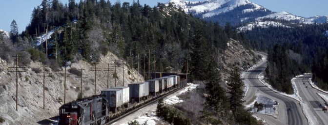 Southern Pacific at Emigrant Gap—Daily Post