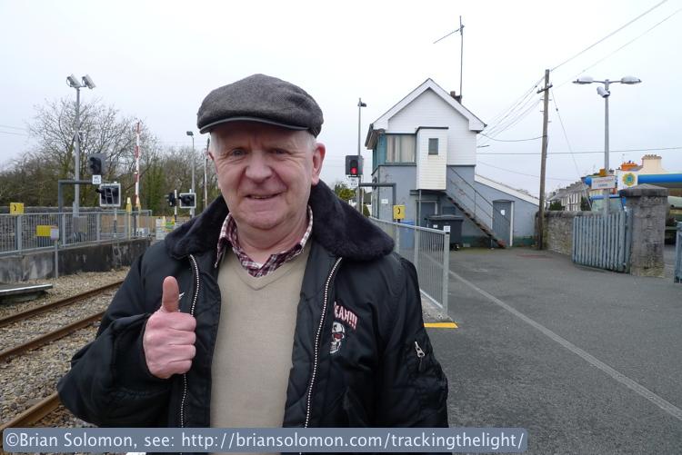 Irish Rail at Castlerea.