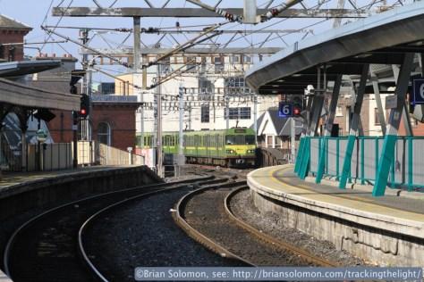 Connolly Station, Dublin.