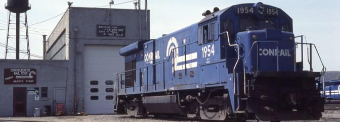 Conrail at Gang Mills, New York