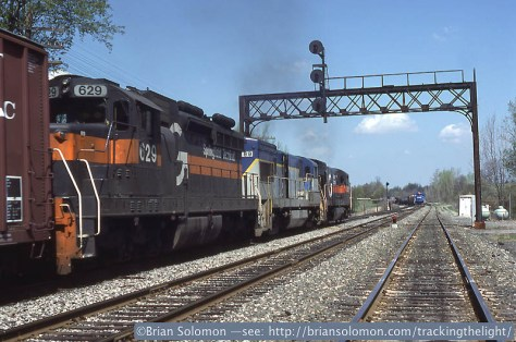 Erie Railroad | Tracking the Light