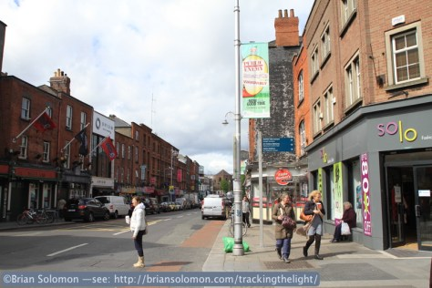 Wexford Street, May 7, 2014.