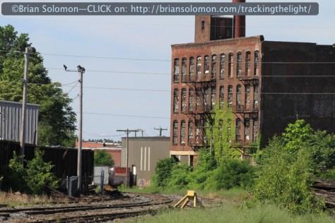 Vestiges of Holyoke Yard on June 22, 2014. Canon EOS 7D photo.