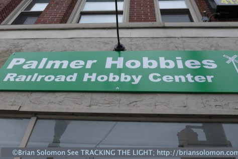 Palmer Hobbies is prominently located on Main Street. Come in and read their magazines!
