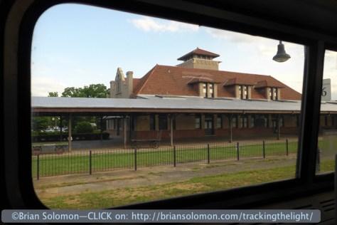 Salisbury Station, North Carolina.  June 1, 2014. Lumix LX-7 photo.
