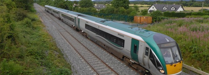 Irish Rail to Sallins, July 27 2014
