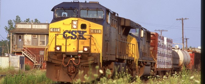 CSX at Utica, New York