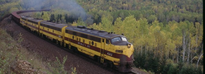 EMD F-units in the Minnesota Iron Range