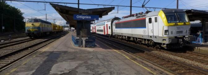 Ottignies—13 Minutes to Change Trains