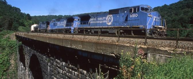 Big Viaduct at Mineral Point, Pennsylvania.