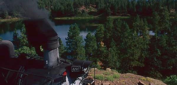 Durango & Silverton K36 in September Sun.