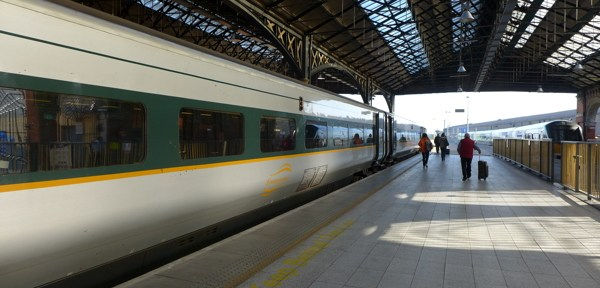 Enterprise to Belfast.