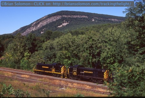 Do old Alcos make better subjects? Slateford Junction at the Delaware Water Gap, September 17, 2007.