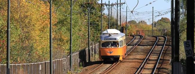 MBTA-Boston: Traction Orange PCCs.
