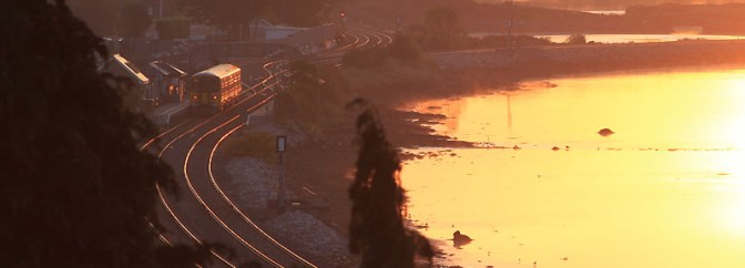 Sunrise at Cobh Junction, Glounthaune, Cork.