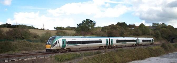 Irish Rail ICR Dublin to Cork.