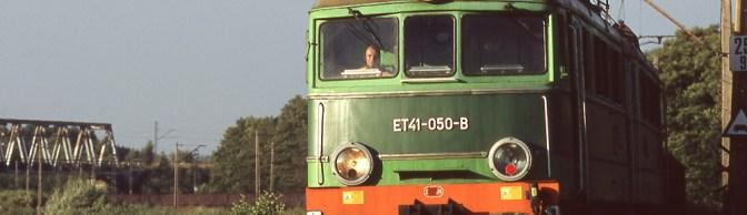 Low Sun on an Electric Coal Train.