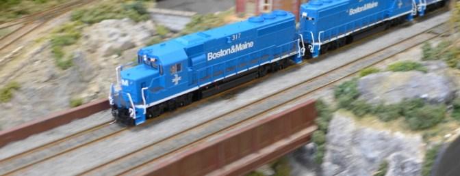 Tracking the Light: Extra Post—Big Train Show photos.
