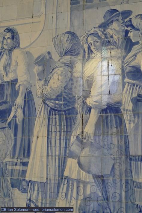 Mural detail.