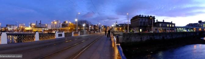 Dublin Panorama and the World's Longest Tram