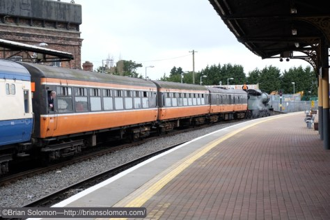 The last outing for orange  Cravens; once a staple of Irish Rail's passenger fleet.