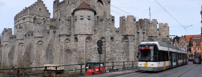 Gent Revisited—Trams, Castles and Cobble Stones