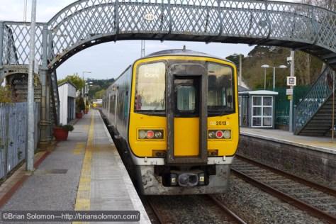 Cork-bound train. Lumix LX7 photo.