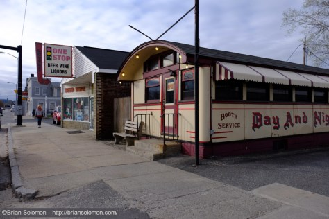 Fuji X-T1 photo of Palmer's Day and Night Diner on May 1st, 2015.